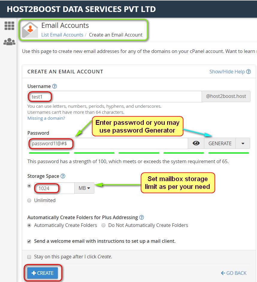 How to Create Email Account in cPanel?