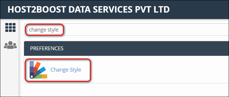 How to Change cPanel Style/Theme?