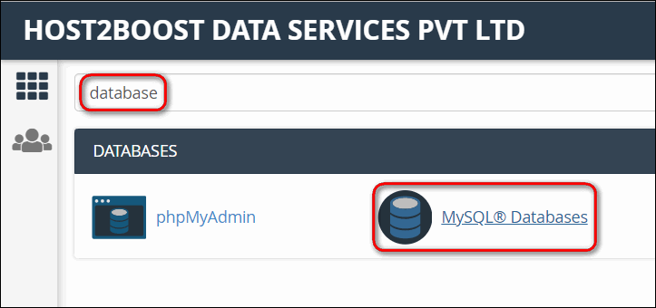 How to delete a database in cPanel?